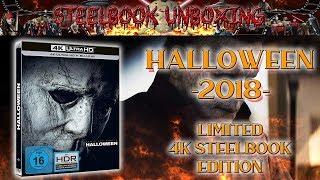 Unboxing - Halloween 2018 - 4K - Steelbook Edition