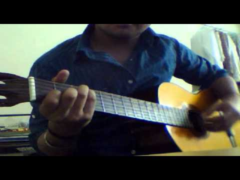 ek din teri rahon mein on guitar