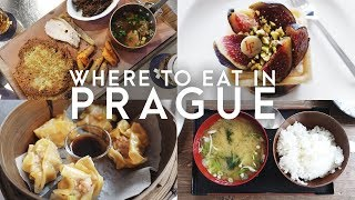 TOP ALTERNATIVE PLACES TO EAT IN PRAGUE | Food Guide