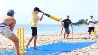Hyundai Beach vs Beach Cricket Cup Highlights