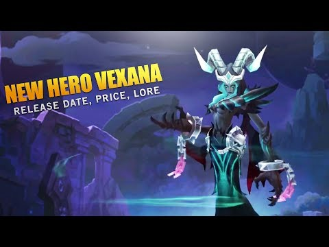Mobile Legends: New Hero Vexana Price, Release Date, and Story / Lore