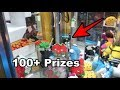 MOST PRIZES EVER WON FROM A CLAW MACHINE! (FILLED THE CHUTE!) | JOYSTICK