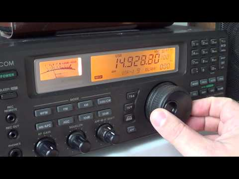 Shortwave Weird radio signal 14926 khz