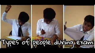 Types of people during exam ft .Isac max