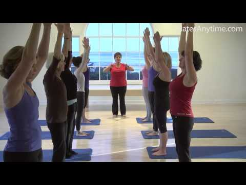Karen Sanzo Beginning Pilates Mat Workout