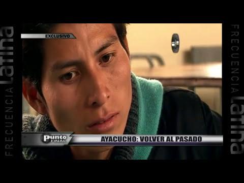 Ayacucho: El reclamo de los estudiantes de la Universidad San Cristóbal de Huamanga