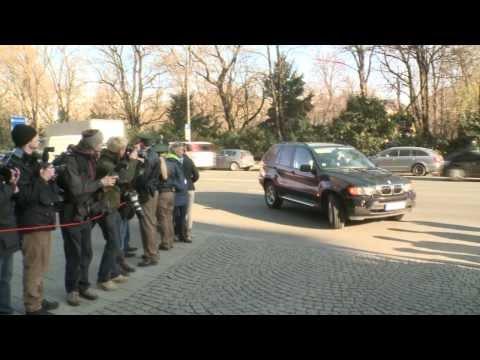 Uli-Hoeneß-Prozess: Ankunft am Münchner Landgericht (10.03.2014)
