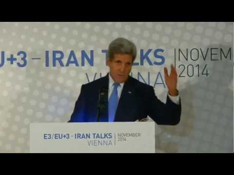 Secretary Kerry Delivers Remarks to the Press in Austria