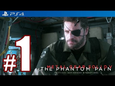 Metal Gear Solid 5: The Phantom Pain (PS4) - 70 Minutes Gameplay in 60fps [1080p] TRUE-HD QUALITY
