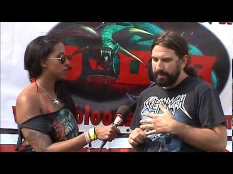 Ryan Black Dahlia Murder interview Bloodstock 2012 with Sophie.K TotalRock
