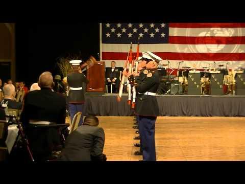 Basic High School MCJROTC, Marine Corps Ball Performance 2013