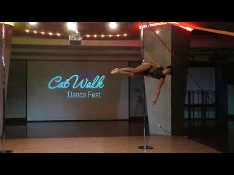 Инна Катайцева - Catwalk Dance Fest IX[pole dance, aerial]  12.05.18.