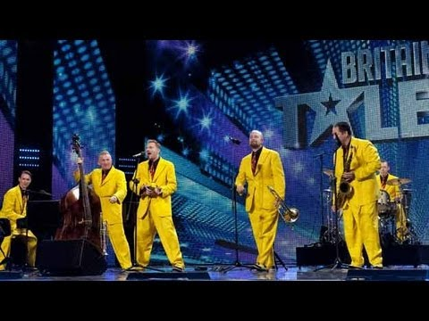 The Jive Aces I Wanna Be Like You - Britain's Got Talent 2012 audition - International version