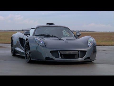 Hennessey Venom GT 0-300km World Record Run - /TUNED