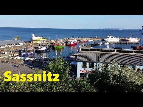 Sassnitz von der Altstadt bis zum Hafen