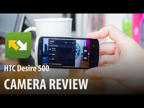 HTC Desire 500 : Camera Review