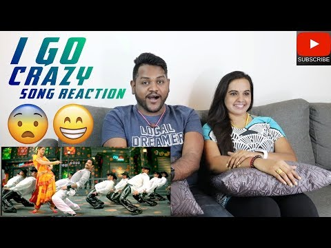 I Go Crazy Song Reaction | Malaysian Indian Couple | Kantri | Jr NTR
