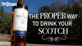 The national brand ambassador for Macallan teaches us to how properly enjoy scotch.