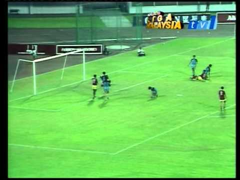 Singapura lwn Selangor Piala Msia 1987- Moktar Dahari and R.Arumugam