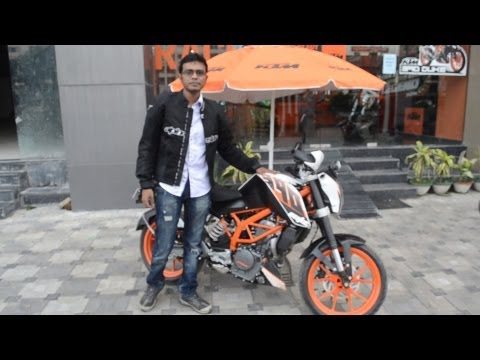 KTM 390 Duke exhaust notes stock sound engine