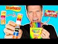 DIY Edible School Supplies FUNNY PRANKS Back To School Learn How To Prank Using Candy Food mp3