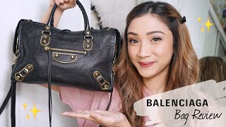 My First Designer Bag Review - BALENCIAGA CLASSIC METALLIC EDGE CITY