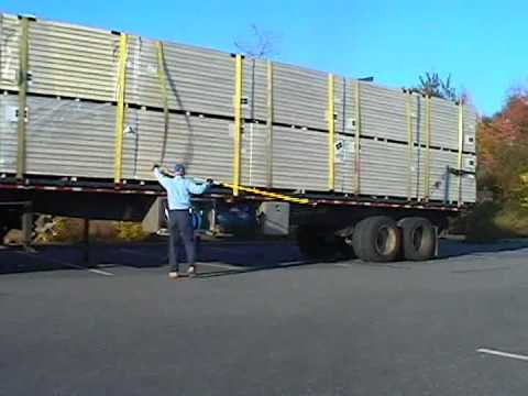 0 Flat Bed Trucking   Cobra High Load Strap Handler
