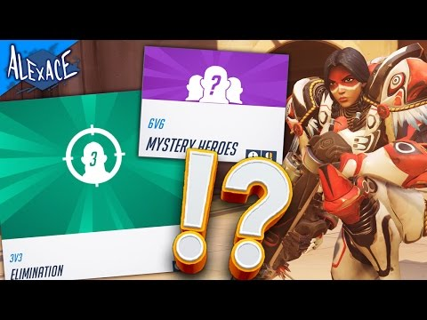 OVERWATCH WITH COMBINED MODES!? l OVERWATCH CUSTOM GAMES!
