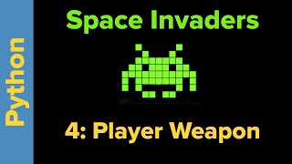 Python Game Programming Tutorial: Space Invaders 4