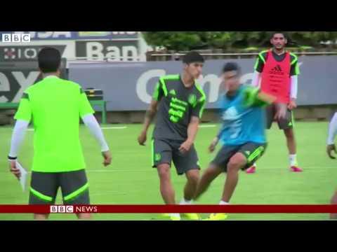 Kidnapped Mexico footballer Alan Pulido freed   BBC News