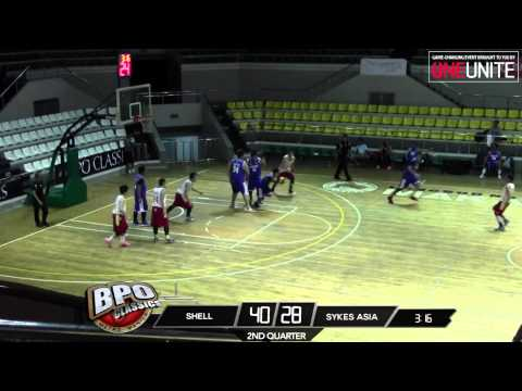 Shell vs. Sykes Asia | Game Highlights | May 23, 2015