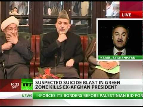 Taliban Turban Bomb: 'Rabbani's death major blow to Karzai'