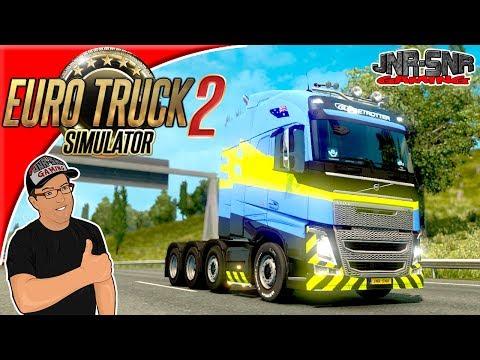 Euro Truck Simulator 2 New Volvo FH16 2012 Mod Review
