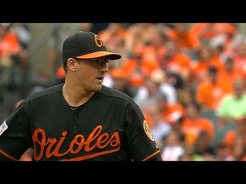 DET@BAL Gm2: Gausman fans five in solid relief outing