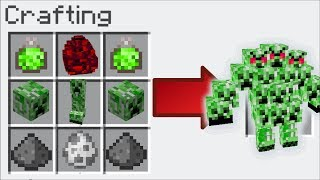 Minecraft MUTANT CREEPER MOD / TURN EVERY MOB IN TO A CREEPER !! Minecraft