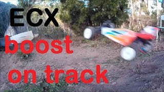 ULTRA RC , ECX BOOST RC BUGGY AT TRACK!!