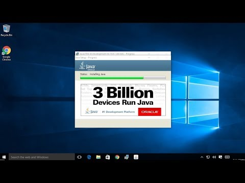 How to install Java JDK 10 on Windows 10 ( with JAVA_HOME )