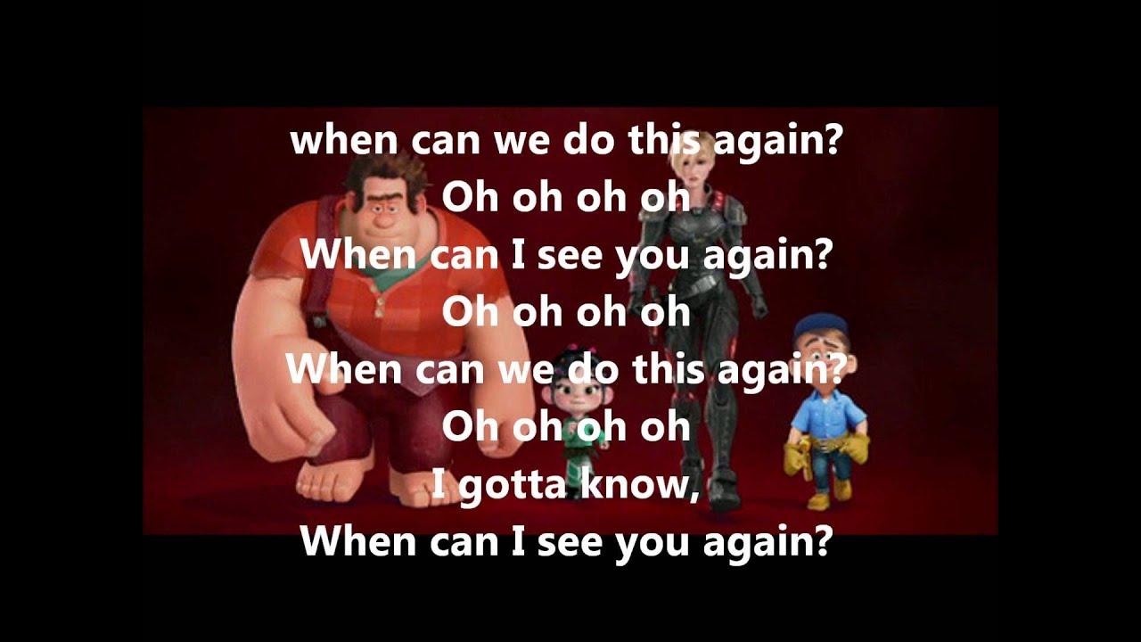 When Can I See You Again?-Owl City (Lyrics) - YouTube