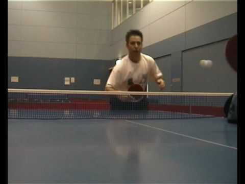 Table Tennis Backhand Flick