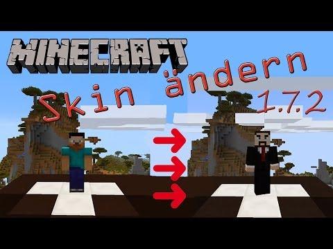 Minecraft Skin änder 1.7.2 [HD] Deutsch [HD]