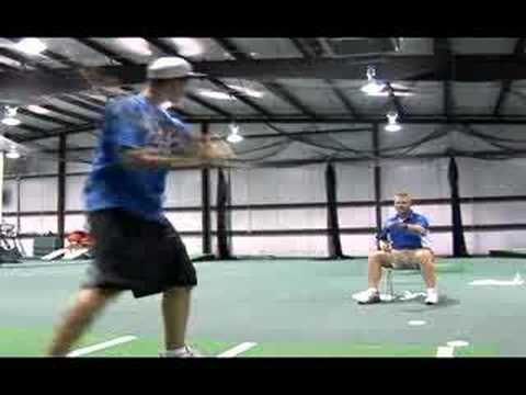 Christopher Newport University's Baseball Coach John Harvell talks about the benefits of using the hitting disc and how it's benefited his players. Purchases...