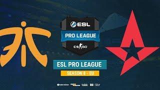 Fnatic vs Astralis - ESL Pro League S8 EU - bo1 - de_train [ceh9]