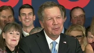 Kasich thanks supporters after second place finish in NH