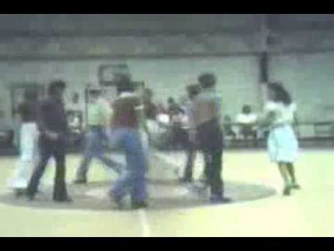 Bradford Middle School square dance circa 1979