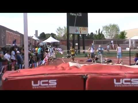 Highland High School-Anthony King@2013 New Mexico State Track & Field Championship-2nd jump