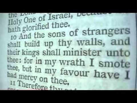 Isaiah 60 Holy Bible (King James)