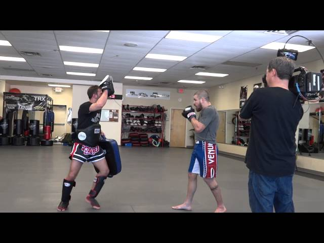 Jim Miller UFC 159:  AMA Fight Club Training Video Shoot