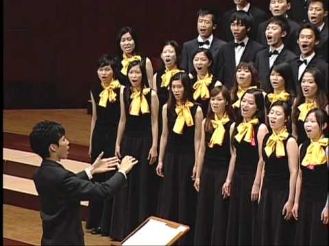 Earth Song (Frank Ticheli) - National Taiwan University Chorus...
