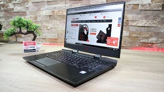 Gaming laptop HP Omen 15 - Recenzija