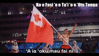 National Anthem of Tonga (Ko e Fasi 'o e Tu'i 'o e 'Otu Tonga) - Nightcore Style With Lyrics